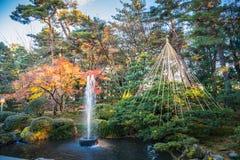 Kenrokuen-Garten lizenzfreie stockbilder