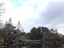 Kenrokuen trädgård Royaltyfri Foto