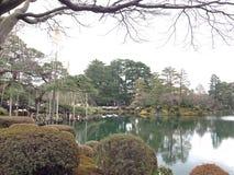 Kenrokuen trädgård Royaltyfri Bild