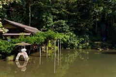 Kenrokuen trädgård i Kanazawa av Japan arkivfoton