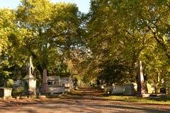 Kensal gräsplankyrkogård London Arkivbilder