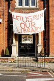 Kensal Rise Library. Is located in bathurst Gardens, Kensal Rise, NW10. It is a community library that is facing closure by Brent Council. This threat of stock photos