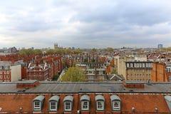 Kensington del sud Londra Fotografia Stock Libera da Diritti
