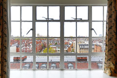 Kensington-Fenster Stockfotos