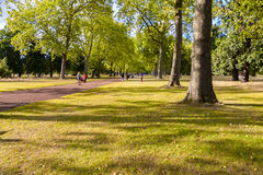 Kensington Gardens in London Royalty Free Stock Photography
