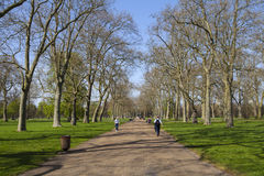 Kensington Gardens in London Royalty Free Stock Image