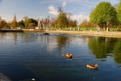 Kensington Gardens. London, England Royalty Free Stock Image