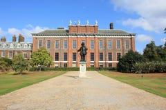 kensington London pałac siedziba królewska Obrazy Royalty Free