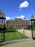 Kensington Palace. Was designed by Sir Christopher Wren for William 111 in 1689 and has been a royal palace ever since Stock Photography