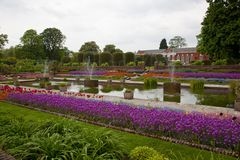 Kensington palace garden, London Stock Photo