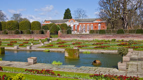 Kensington Palace and Gardens, London, England, United Kingdom. London, United Kingdom - March 31, 2015: Kensington Palace and Gardens. English Gardens Stock Photography