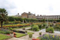 Kensington Palace, London, England. Sunken Garden Royalty Free Stock Photo