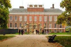 Kensington Palace, London stock photo