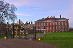 Kensington Palace London Royalty Free Stock Image