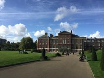 The Kensington Palace in London. In a sunny day stock photos