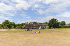 Kensington Palace set in Kensington Gardens, London, United Kingdom Royalty Free Stock Image