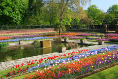 Kensington Palace Sunken Gardens Royalty Free Stock Images