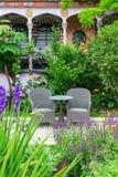 Kensington Roof Gardens in London, UK Stock Photos