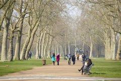 Kensington trädgård Arkivbilder
