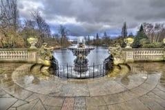 Kensington trädgårdar London Fotografering för Bildbyråer