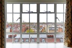 Kensington window Stock Photos