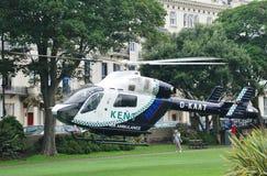 Kent Air Ambulance krigarefyrkant Arkivbild