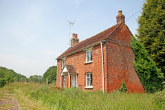 Kent country cottage lane Royalty Free Stock Photography