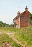 Kent country cottage lane Royalty Free Stock Photos