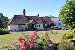 Kent country farmhouse Stock Photo