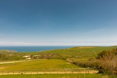 Kent country and seaview royalty free stock photography