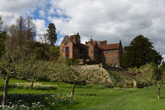 KENT/ENGLAND - April 8, 2014: Chartwell, the home of former Prime Minister Stock Photography