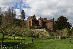 KENT/ENGLAND - Kwiecień 8, 2014: Chartwell dom poprzedni Pierwszorzędny minister Fotografia Stock