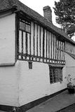 Kent exposed beam medieval cottage Royalty Free Stock Photography