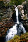 Kent Falls in Fall Royalty Free Stock Images