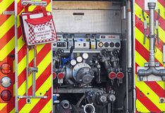 Kent fire brigade engine Royalty Free Stock Photo