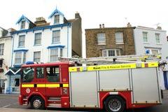 Kent Fire brigade truck UK Stock Photo