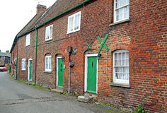 Kent Georgian Period Cottages Royalty Free Stock Photo