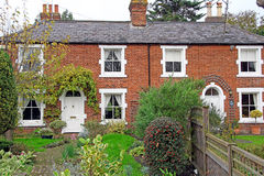 Kent Georgian Period Cottages Royalty Free Stock Images
