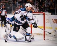 Kent Huskins, San Jose Sharks Royalty Free Stock Photo