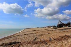 Kent kust Förenade kungariket Royaltyfria Bilder