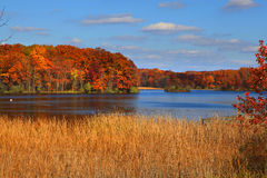 Kent lake in Michigan Stock Photo