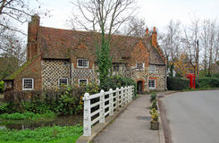Kent medieval cottage Stock Photos