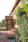 Kent oast cottage and garden Royalty Free Stock Photos