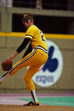 Kent Tekulve Pittsburgh Pirates. Former Pittsburgh Pirates relief pitcher Kent Tekulve. (Image taken from color slide Stock Photo