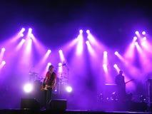 Kent vive en concierto en Oslo, 2012 fotos de archivo