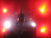 Kent vive en el concierto Oslo 2012 - Jocke Berg en la guitarra imagen de archivo