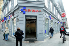 Kentbank branch in city centre Royalty Free Stock Photography