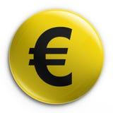 Kenteken - euro Stock Fotografie