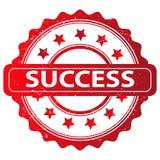 Kenteken van succes Royalty-vrije Stock Foto