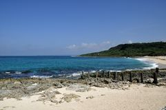 Kenting's beach. Kenting's beach in south Taiwan Royalty Free Stock Photos